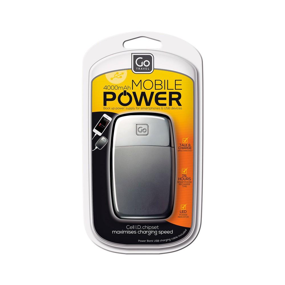 Batería plus 4000 mah negra