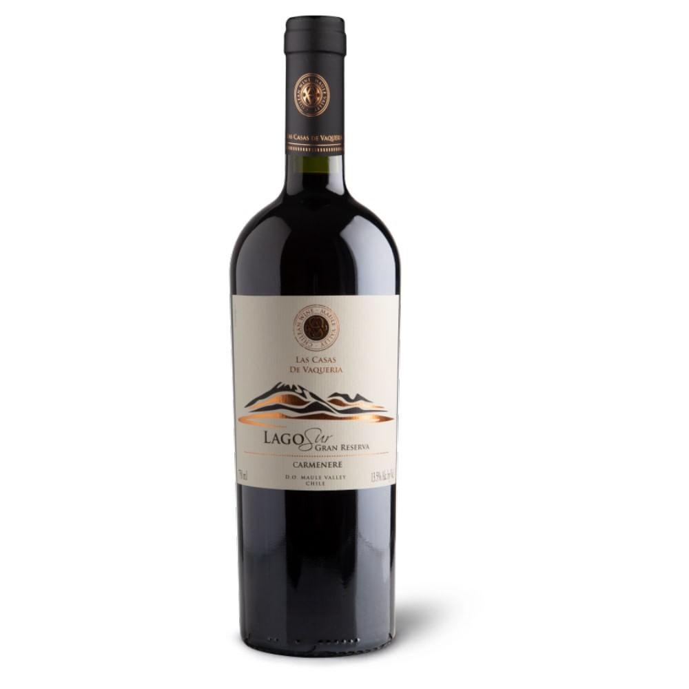 Vino carménère gran reserva Lago Sur