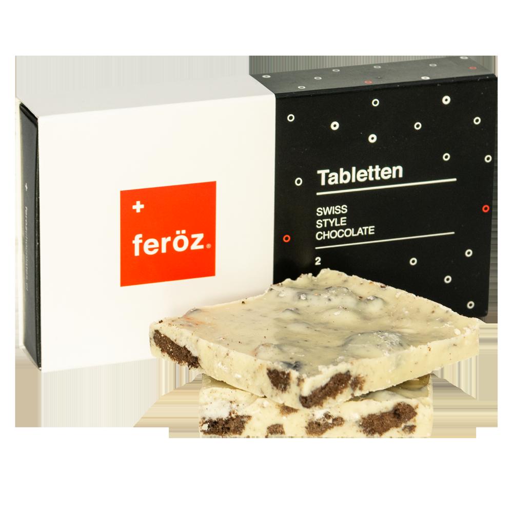 Caja 2 Tabletten - Cookies & Cream 60g.