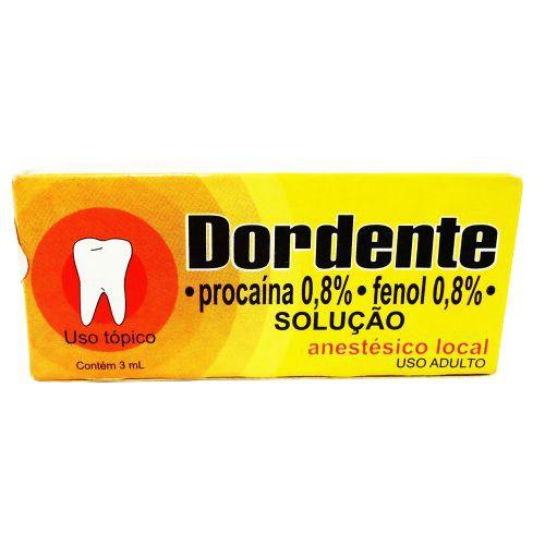 Dordente 8mg/mL + 0,008mL/mL