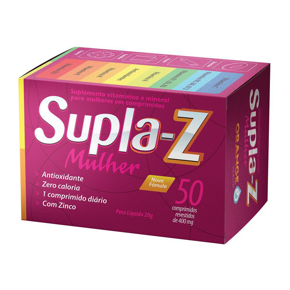 Suplemento vitamínico Supla-Z mulher