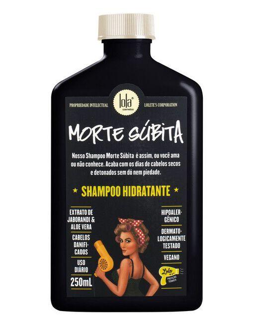 Shampoo lola morte súbita
