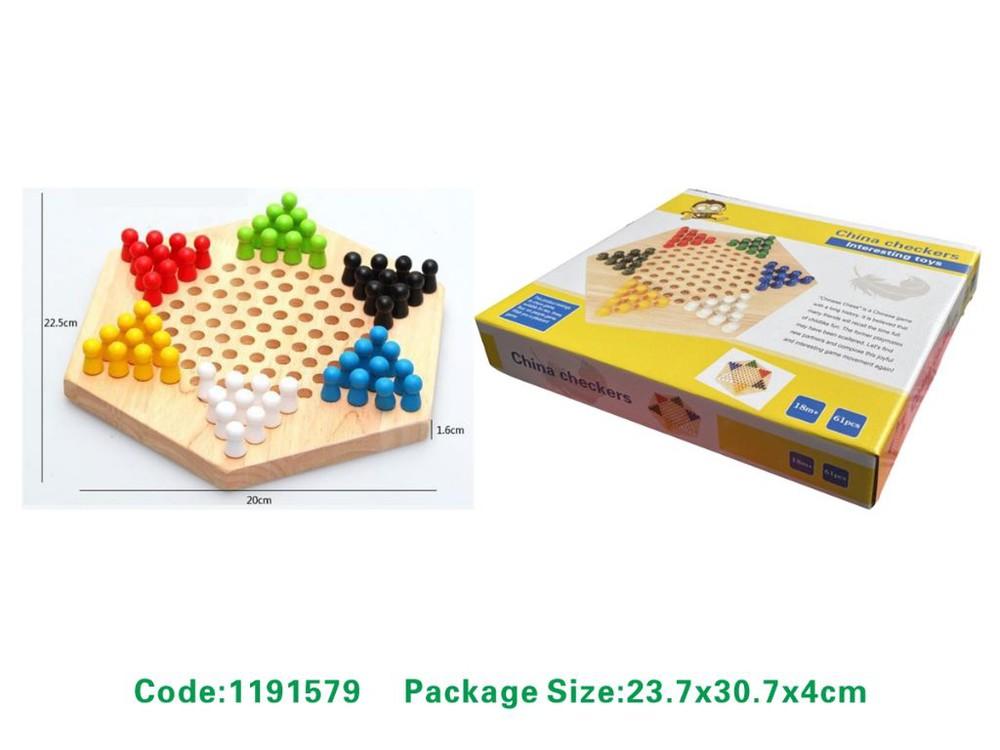 Juego dama china madera - 1191579