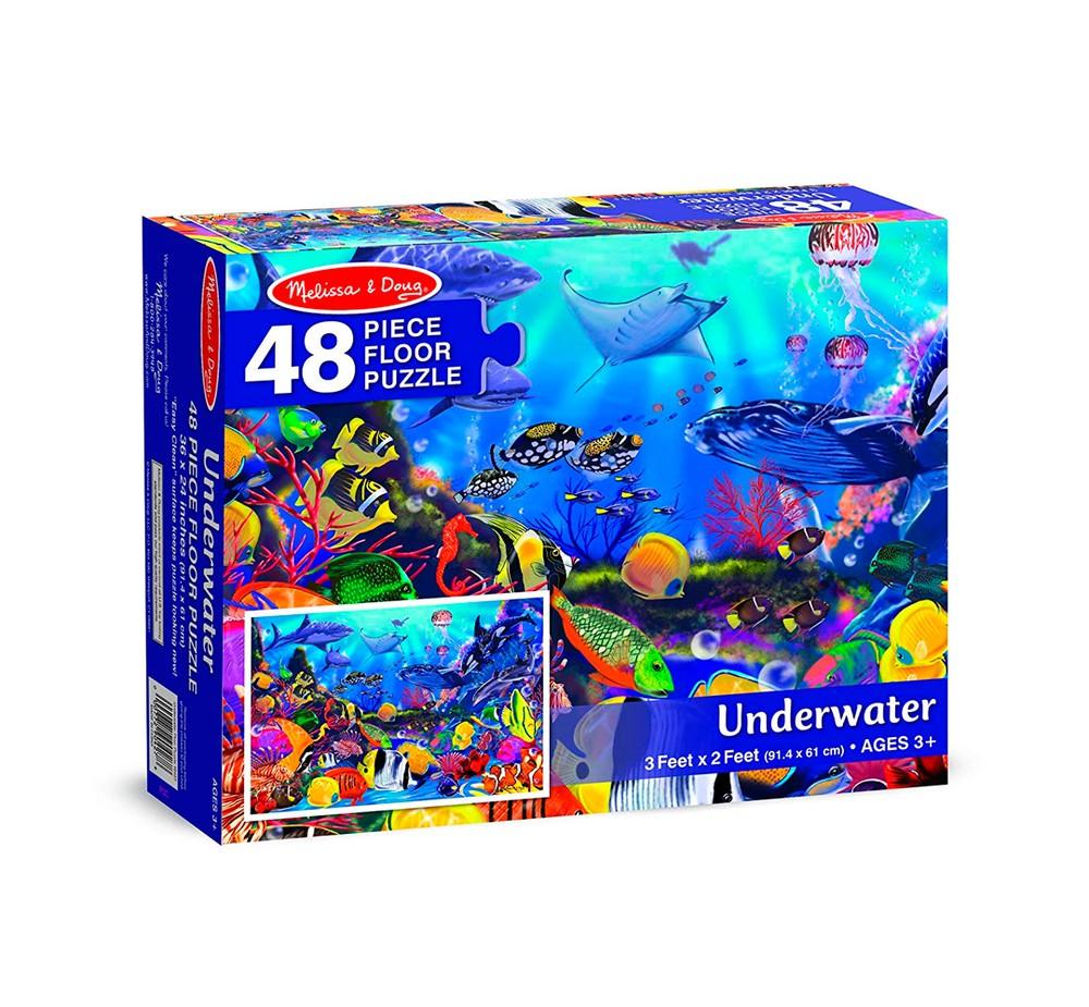 Puzzle bajo el agua
