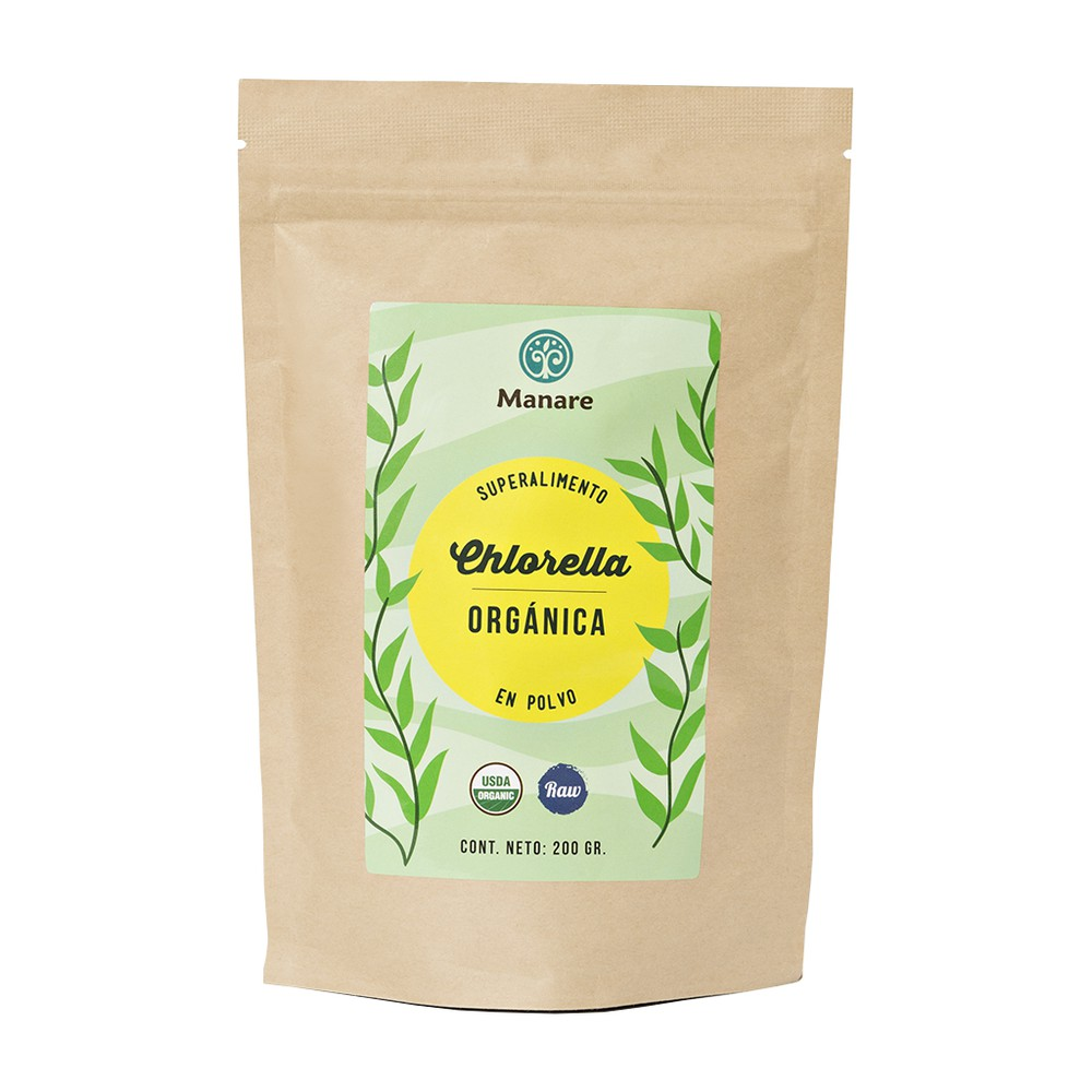 Chlorella organica