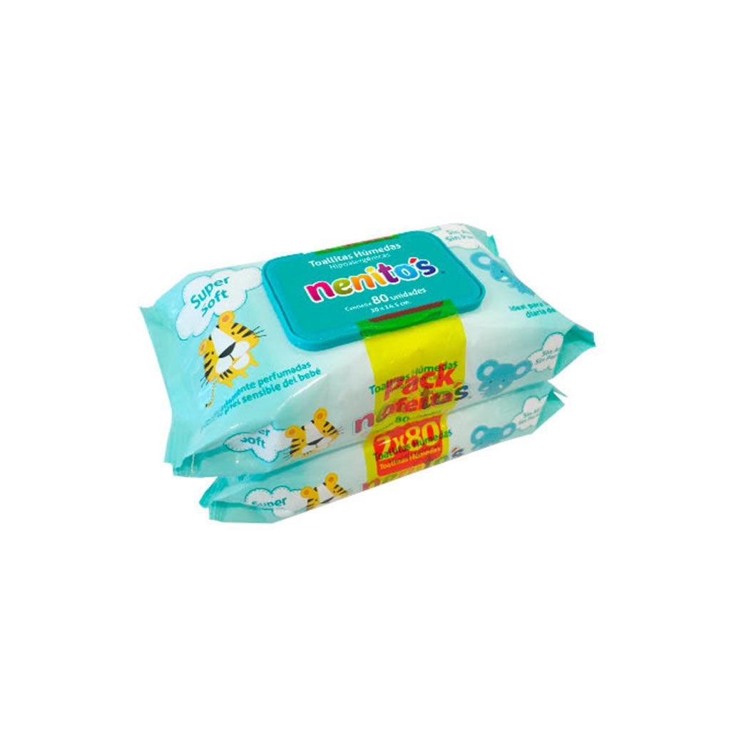 Pack toallitas húmedas para bebés