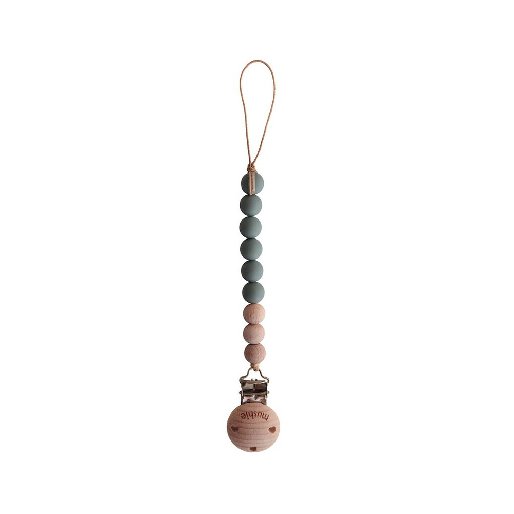 Porta chupete clips halo - dried thyme