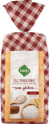 Pão de forma tradicional