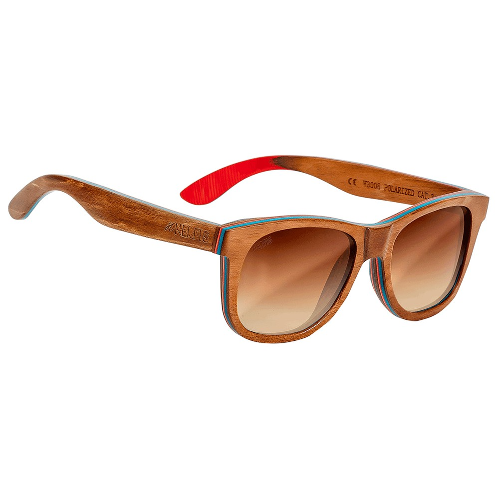 Anteojos de sol maple brown ancho 147, largo 146, alto 50 mm