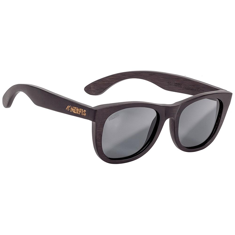 Anteojos de sol bambú black ancho 140, largo 143, alto 49 mm
