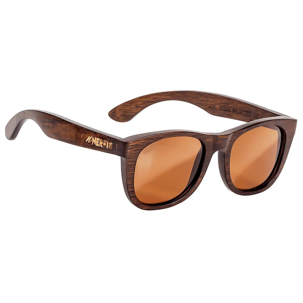 Anteojos de sol bambú brown ancho 140, largo 143, alto 49 mm