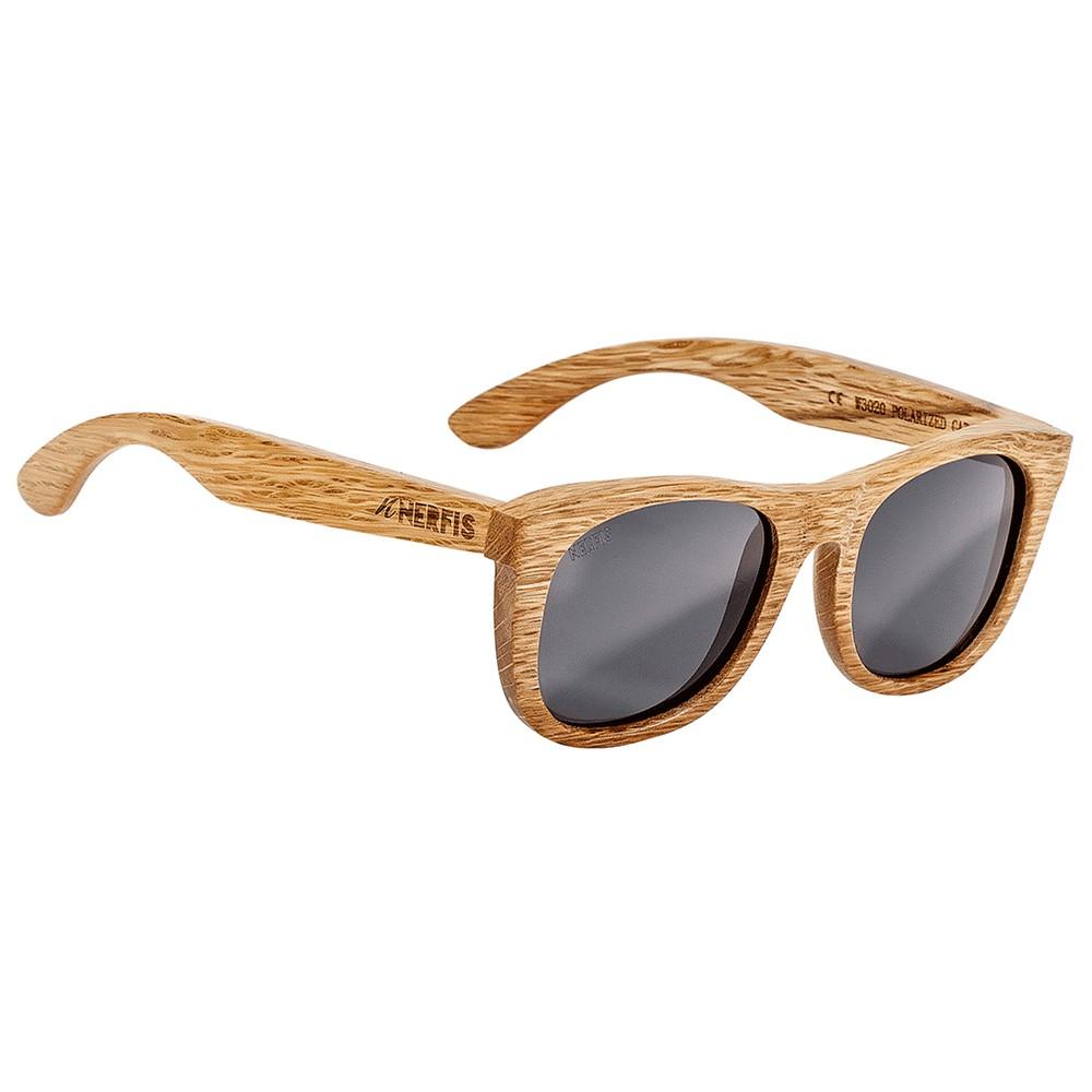 Anteojos de sol bambú natural black ancho 140, largo 143, alto 49 mm