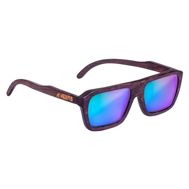 Anteojos de sol wood blue ancho 150, largo 151, alto 48 mm