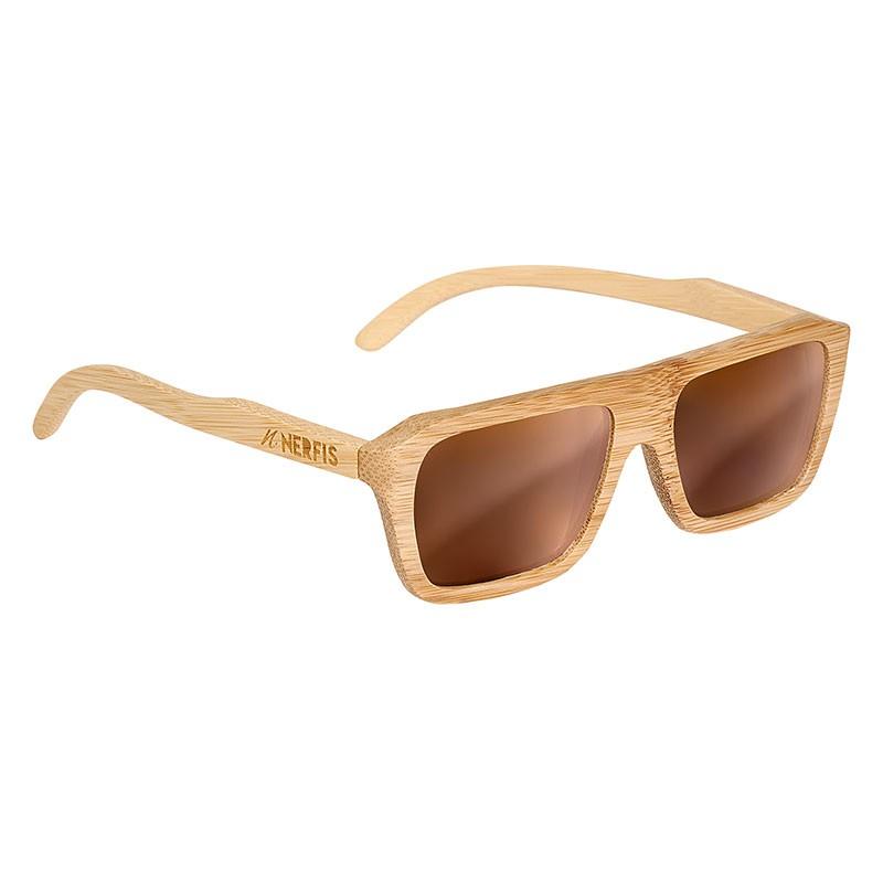 Anteojos de sol wood brown ancho 150, largo 151, alto 48 mm