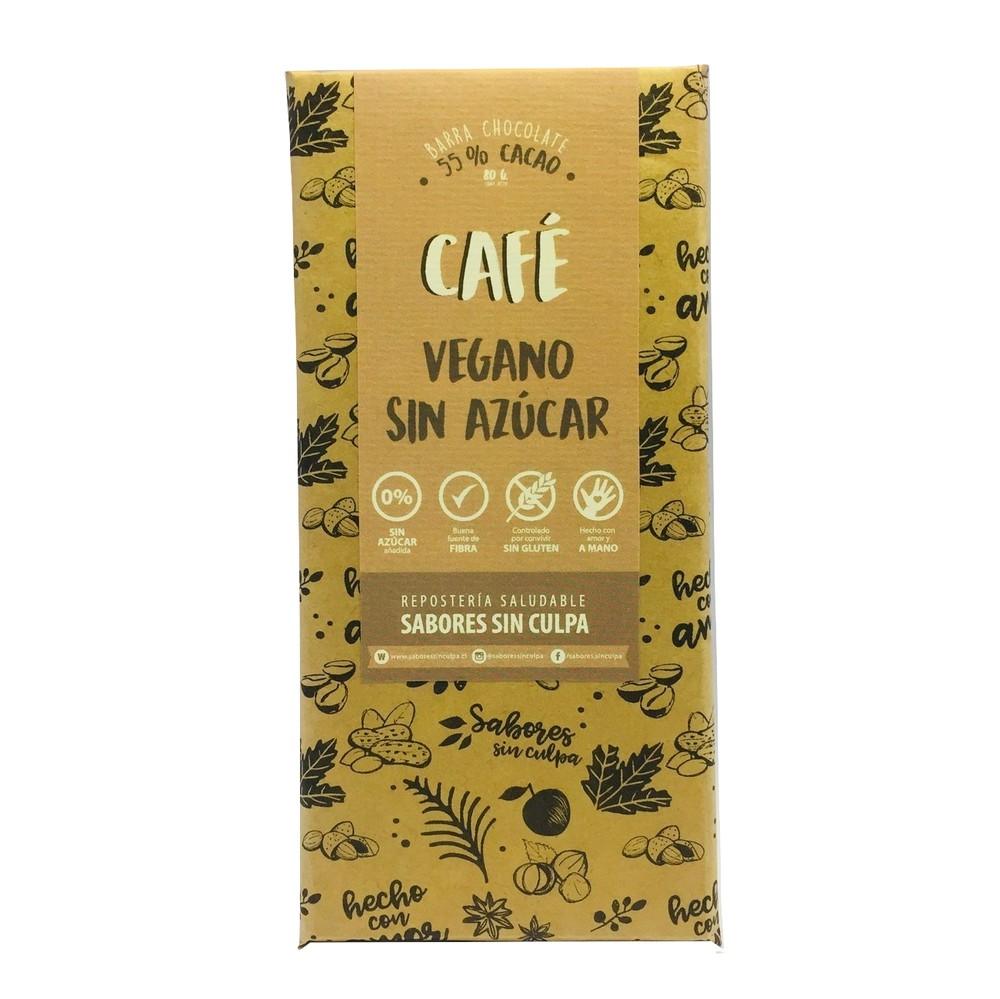 Barra de chocolate vegano