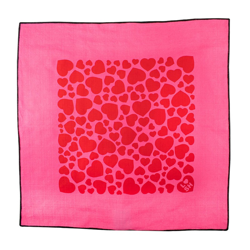 Love hearts pink kw