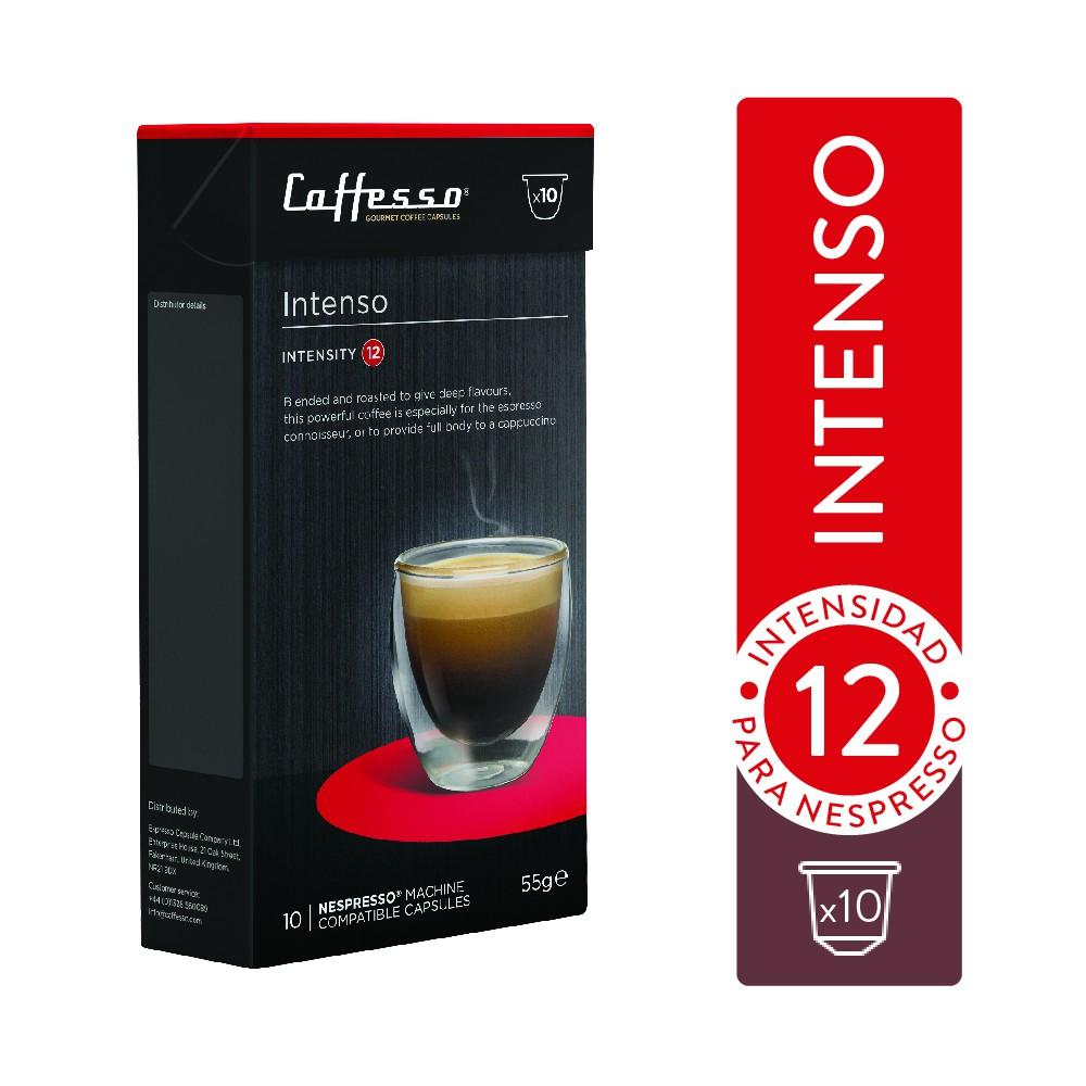 Cápsulas de café intenso