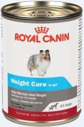 Perro adulto control peso alimento húmedo