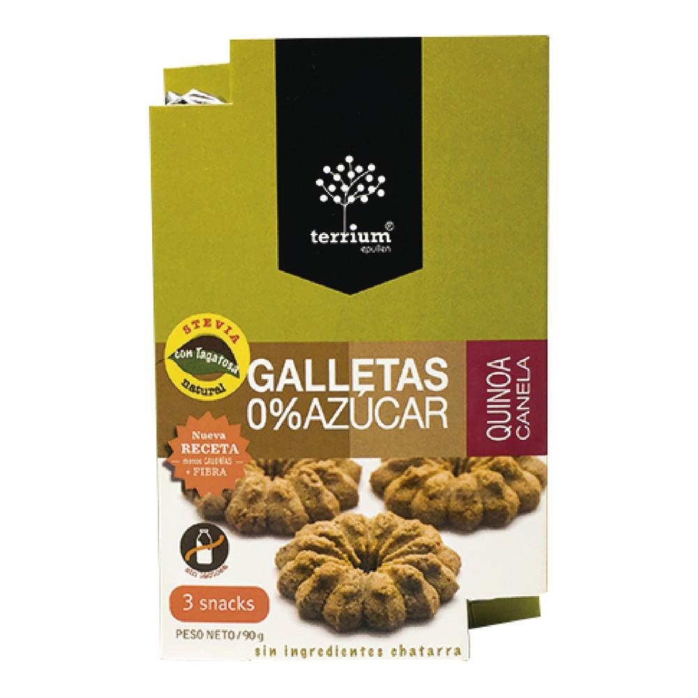 Galletas de quinoa canela 0% azúcar