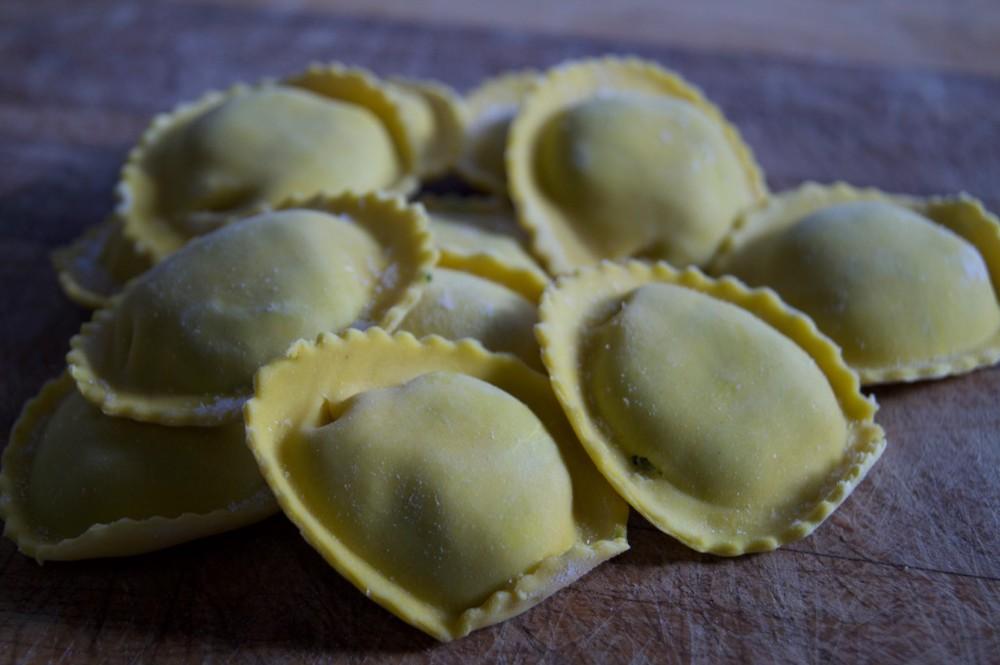 Tortelloni Espinaca