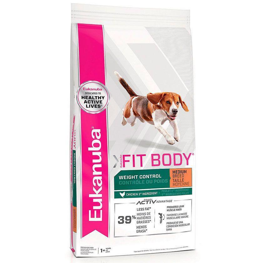 Fit body medium ( raza media ) 13,6 kilos