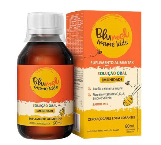 Suplemento alimentar Imune Kids mel