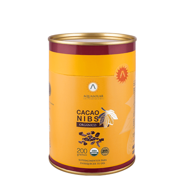 Cacao nibs orgánico 200 g