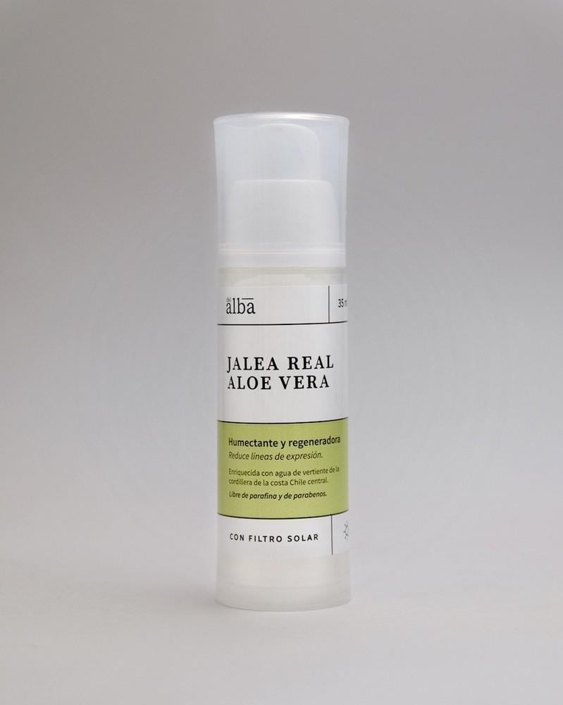 Crema hidratante jalea real y aloe vera 35 ml
