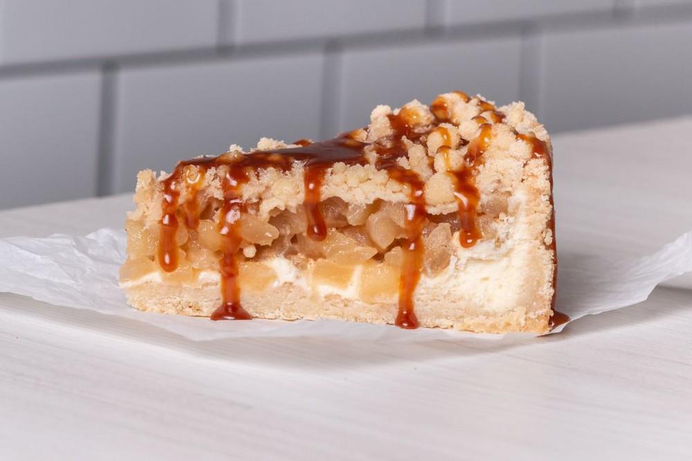 Trozo Apple Crumble Pie