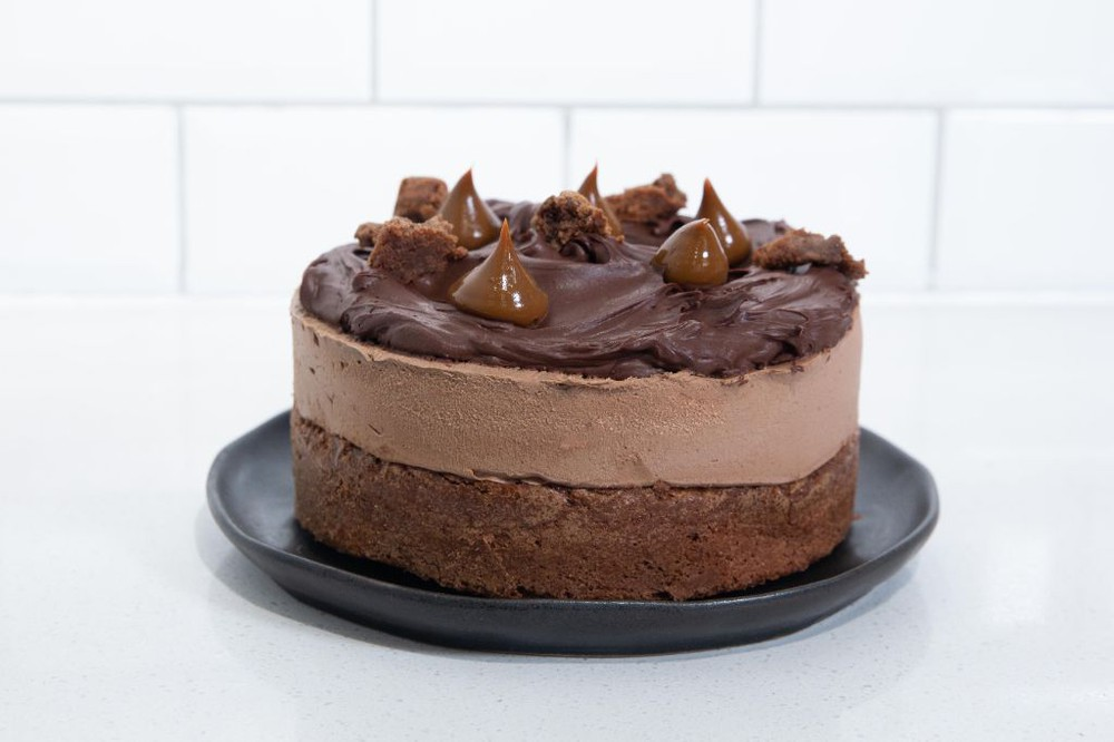 Cheesecake Brownie Chocolate & Dulce de Leche Entera (10 personas)