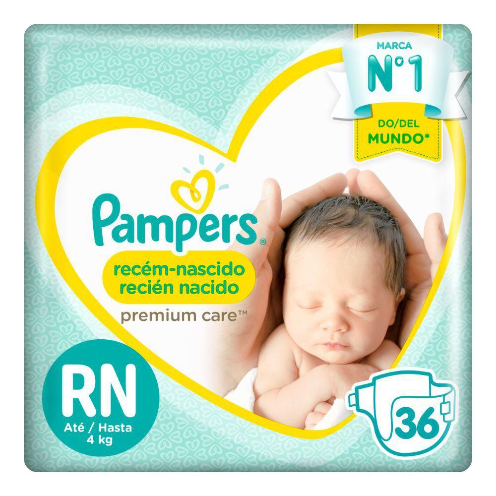 Pañales recién nacido talla RN