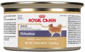 Chihuahua alimento húmedo