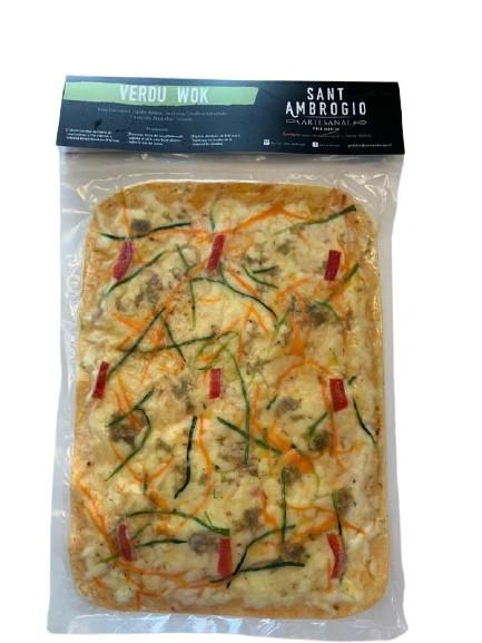Pizza verdu wok 1 un