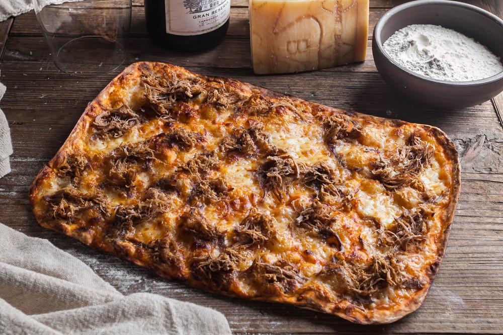 Pizza mechada 1 un