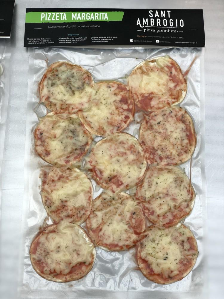 Pizzeta margarita 11 pizzetas por bolsa (9 cms diametro)