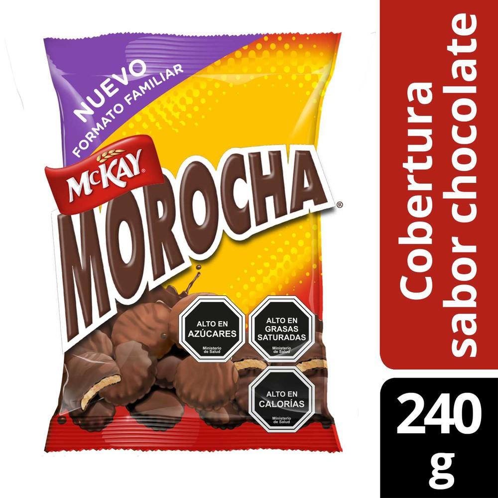 Galletas vainilla cubierta de chocolate