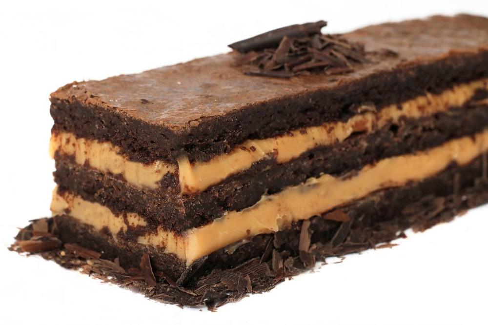 Barra Brownie - manjar