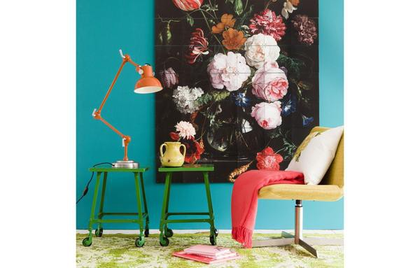 Mural still life with flowers - Large