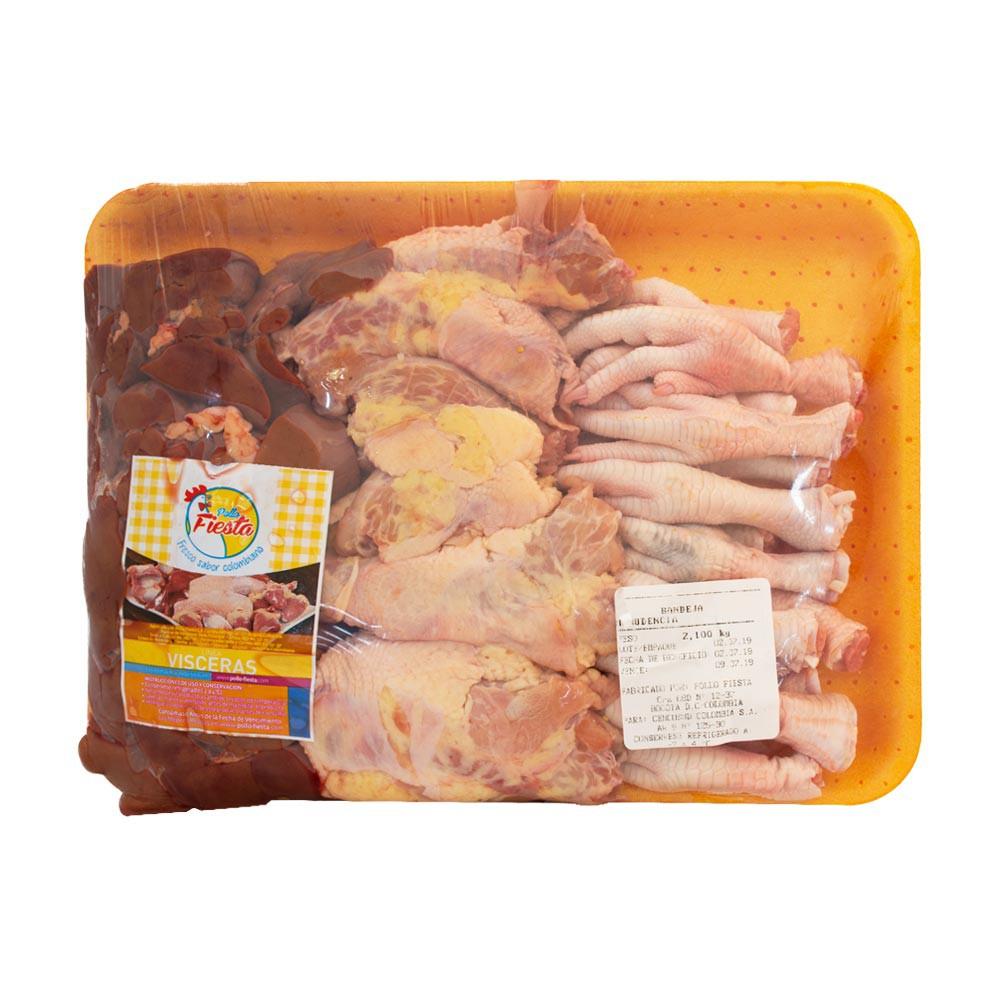 Menudencia fina de pollo