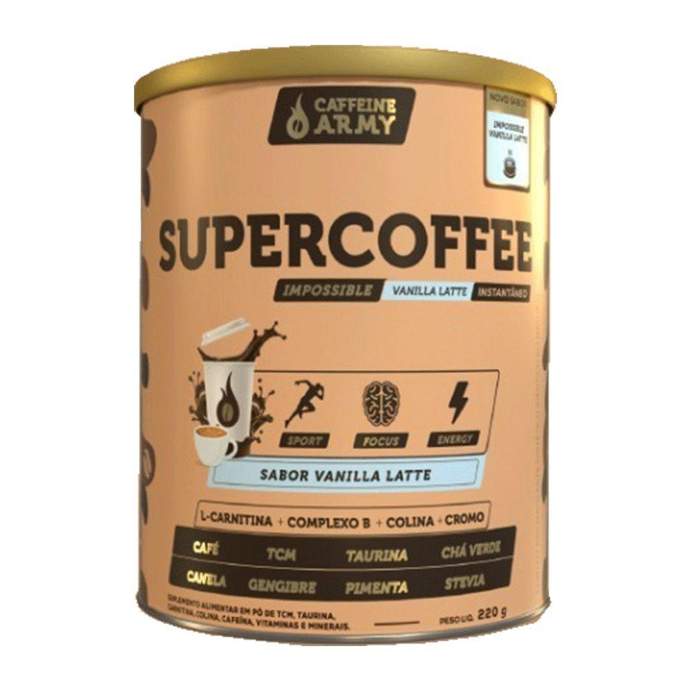 Supercoffee sabor Vanilla Latte (baunilha)