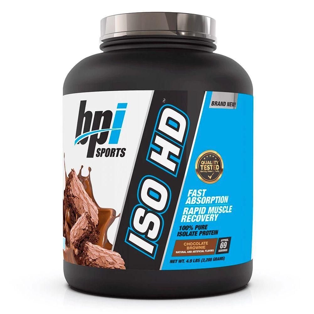 Bpi · Iso HD aislada sabor chocolate brownie