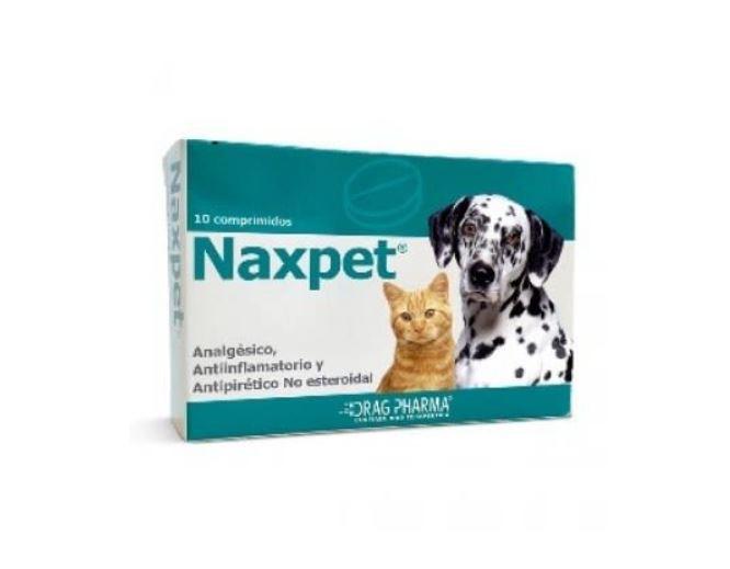 Naxpet 10 mg 10 comprimidos