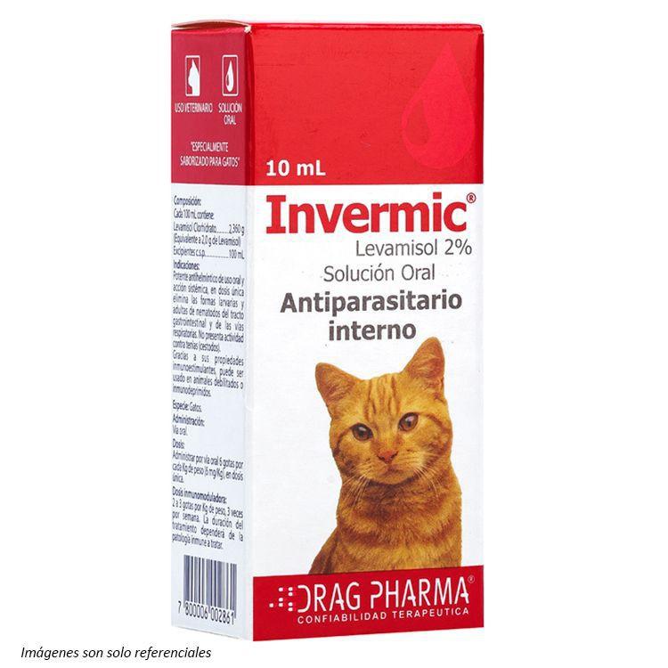 Invermic gotas gatos