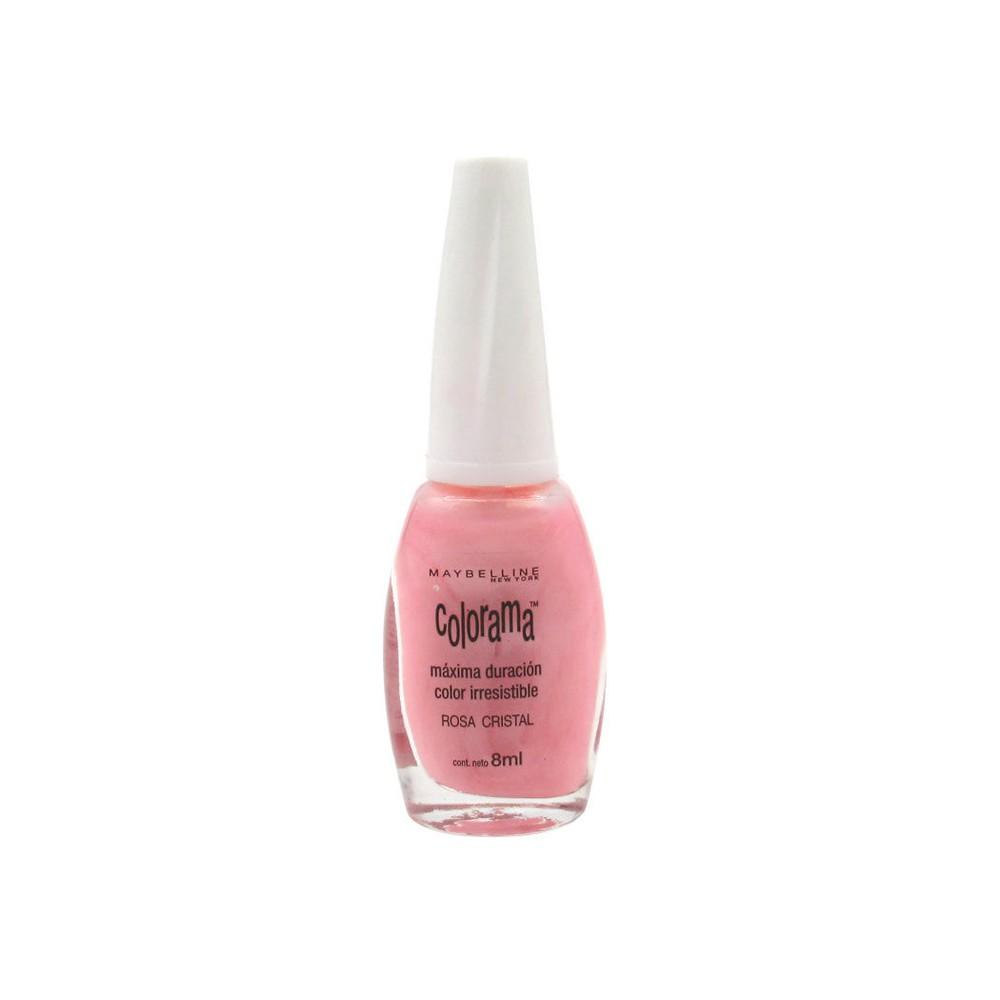 Esmalte de uñas Colorama rosa cristal