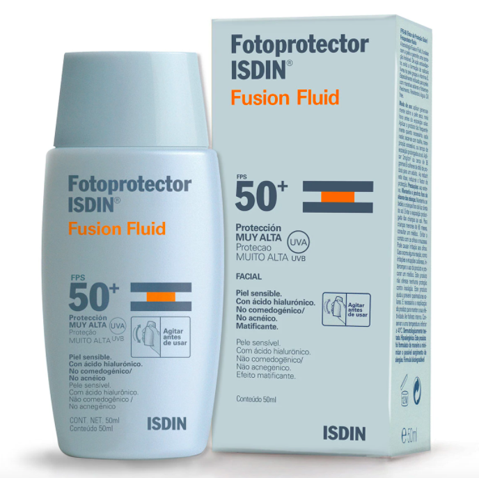Fotoprotector con acido hialurónico SPF 50+
