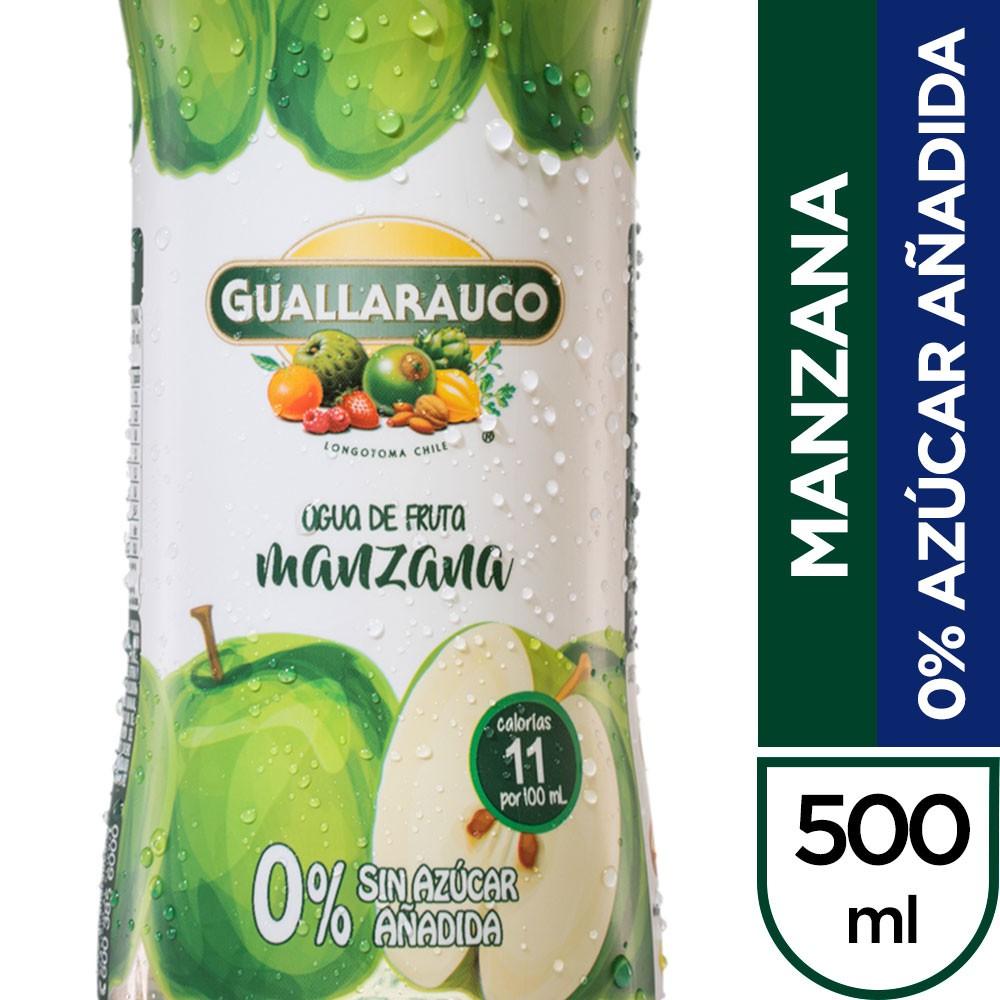 Agua de fruta manzana 500 ml