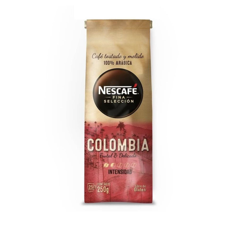 Café grano Fina Selección Colombia
