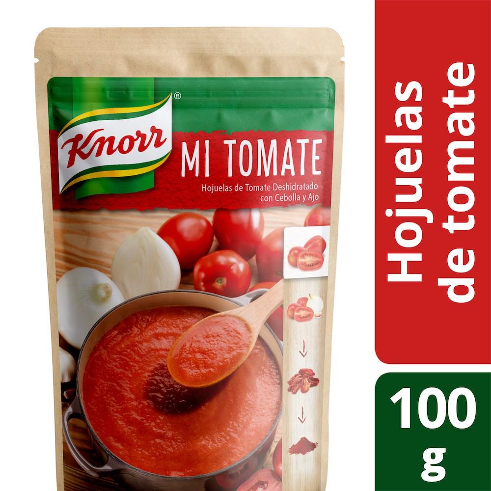 Hojuelas de tomate deshidratado mi tomate con cebolla y ajo