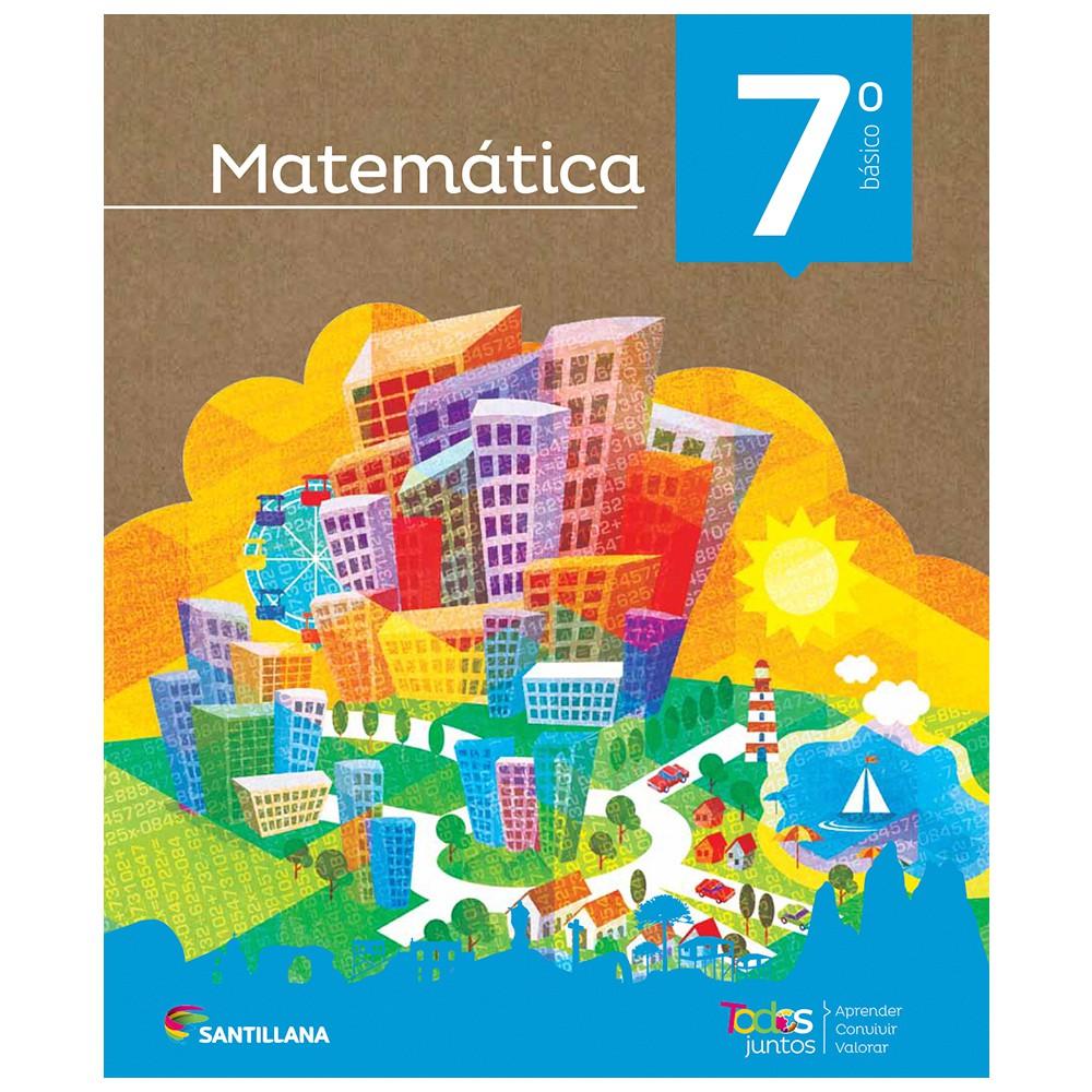 Pack matemáticas 7° básico todos juntos santillana