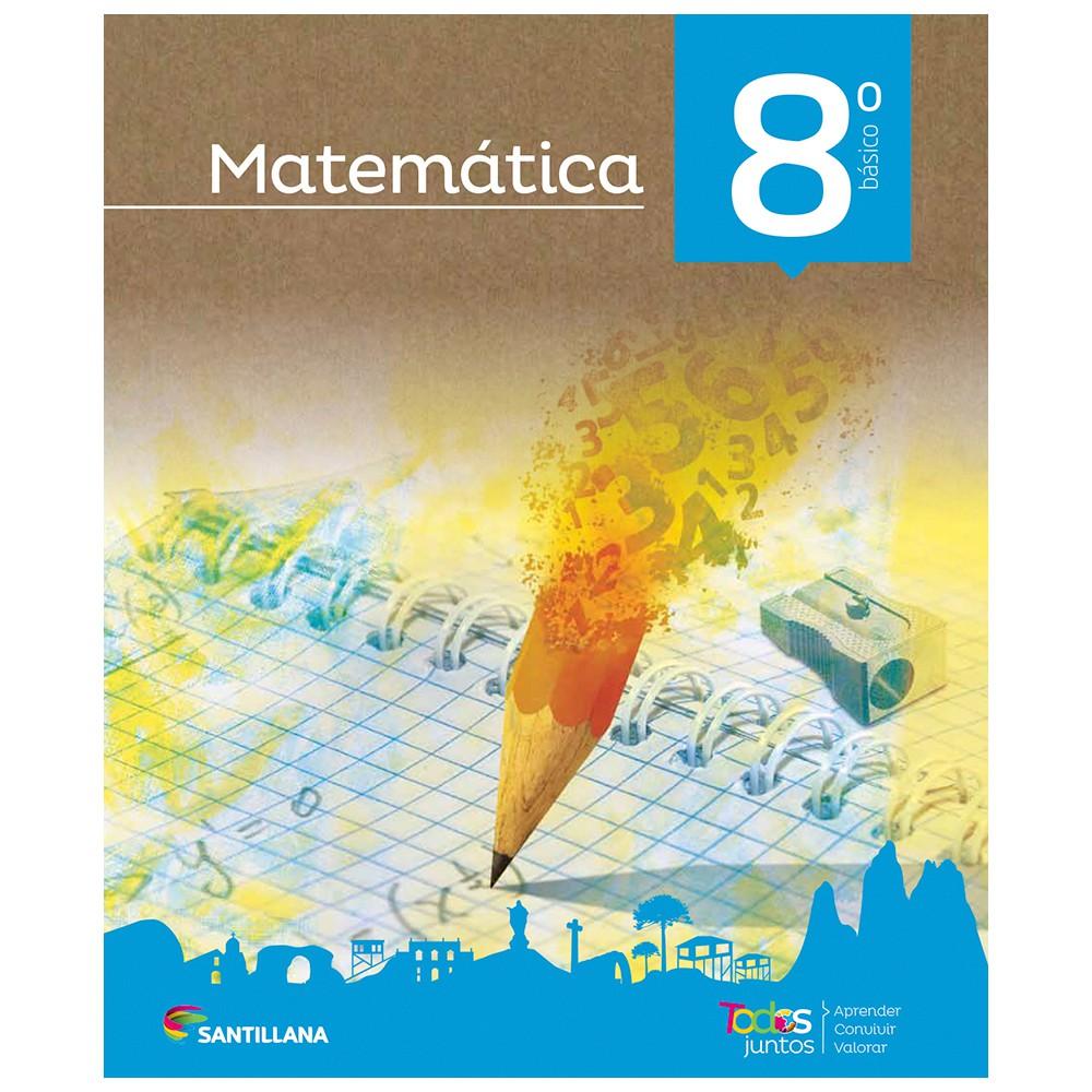 Pack matemáticas 8° básico todos juntos santillana